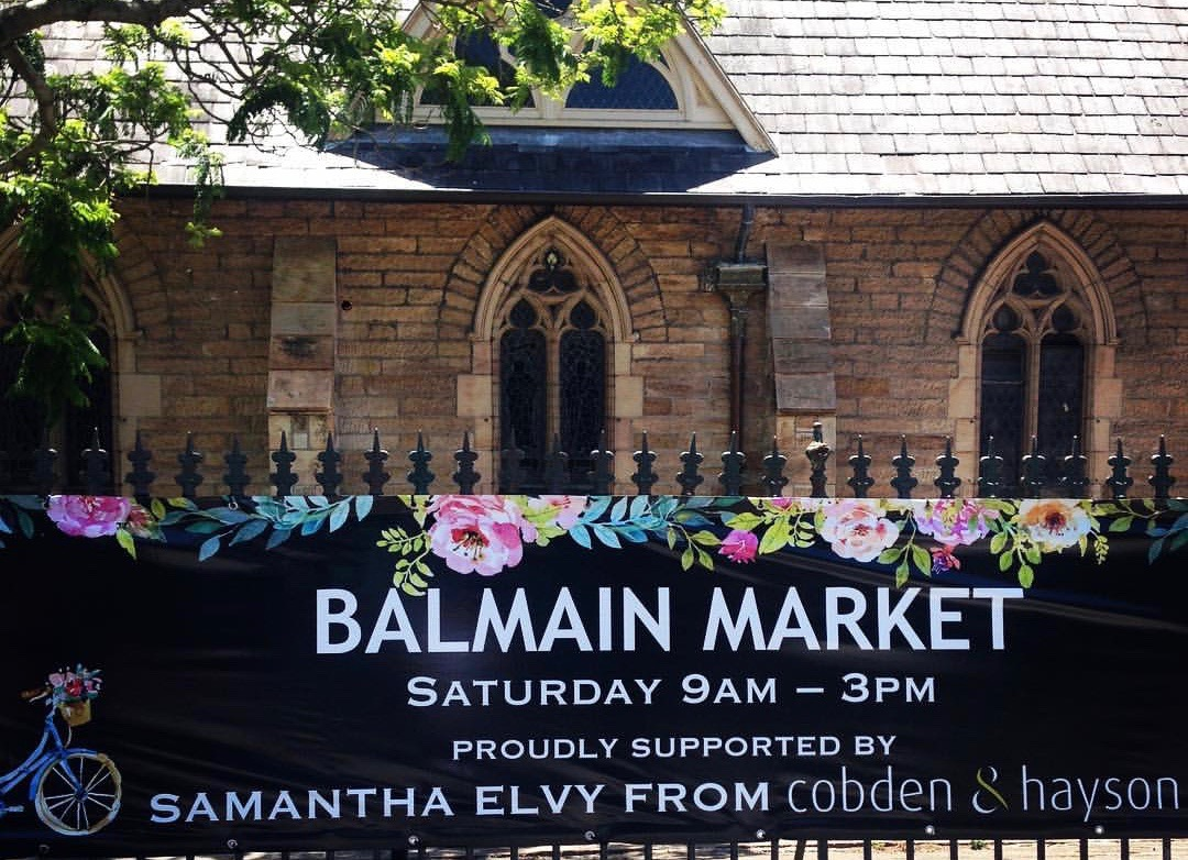LOOKING BACK ON 40 YEARS OF THE BALMAIN MARKET