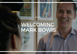 WELCOMING INNER WEST SPEACILIST MARK BOWIS TO THE TEAM!