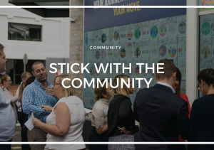 STICK WITH THE COMMUNITY: ART MONTH 2019