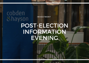POST ELECTION INFORMATION EVENING