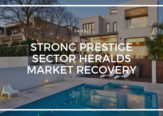 STRONG PRESTIGE SECTOR HERALDS MARKET RECOVERY