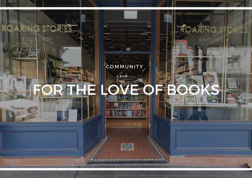 ROARING STORIES - FOR THE LOVE OF BOOKS