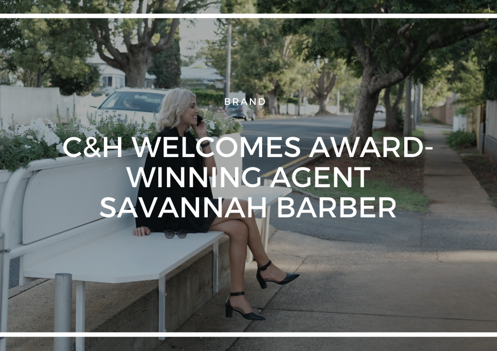 C&H WELCOMES AWARD-WINNING AGENT SAVANNAH BARBER