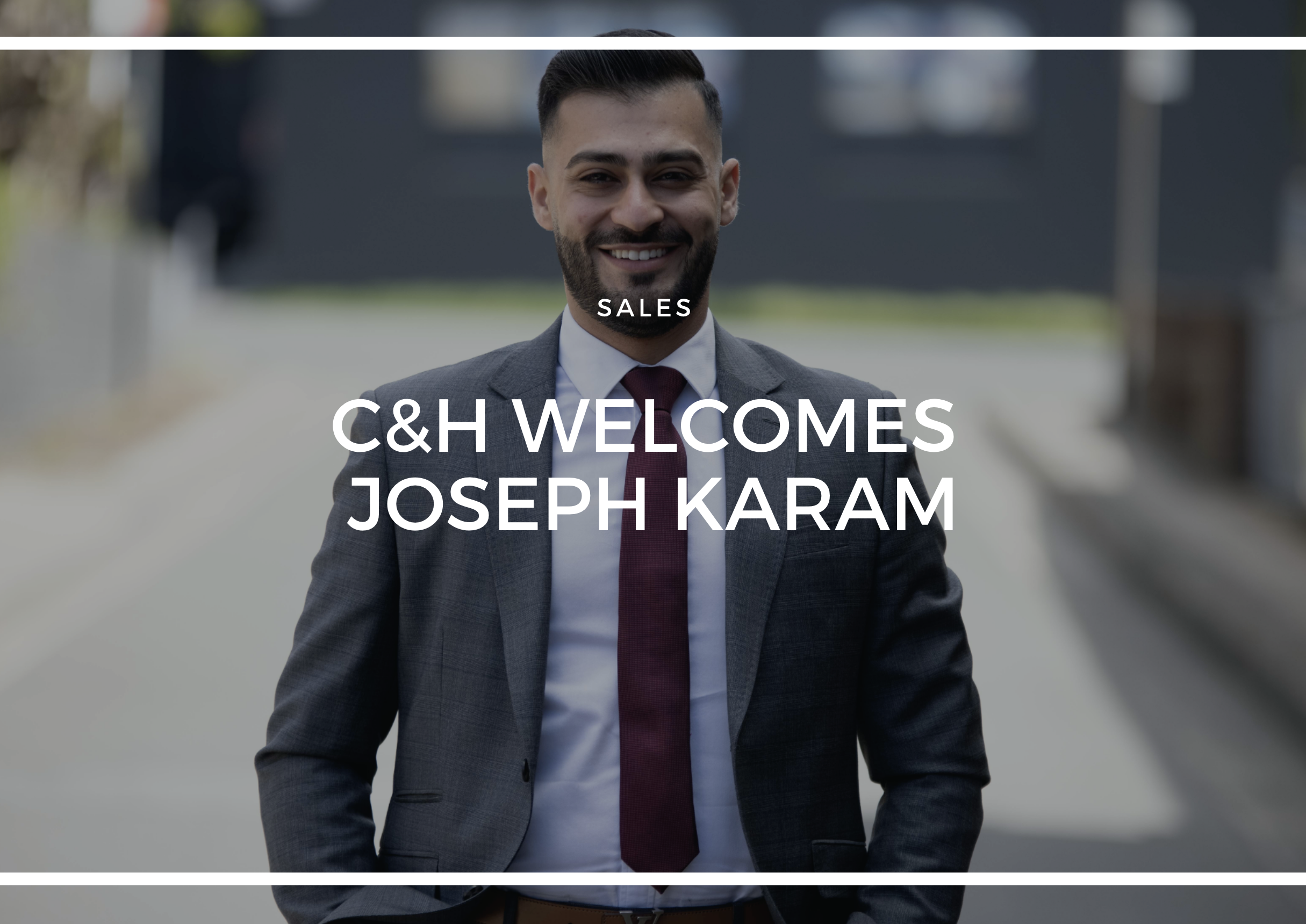WELCOMING LOCAL JOSEPH KARAM TO THE MARRICKVILLE OFFICE