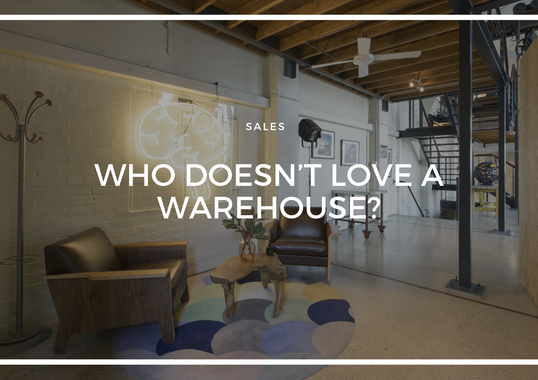 WHO DOESN'T LOVE A WAREHOUSE CONVERSION. HERE ARE THREE OF THE FINEST.