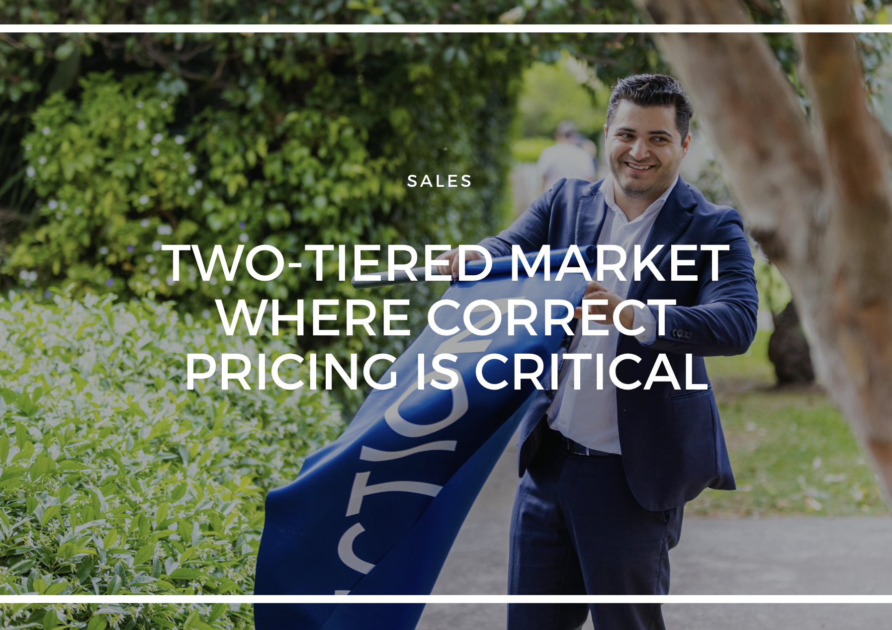 TWO-TIERED MARKET WHERE CORRECT PRICING IS CRITICAL